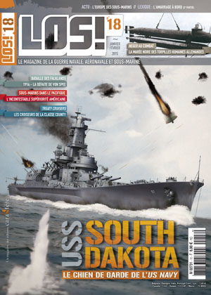 Los! n°18 : USS South Dakota